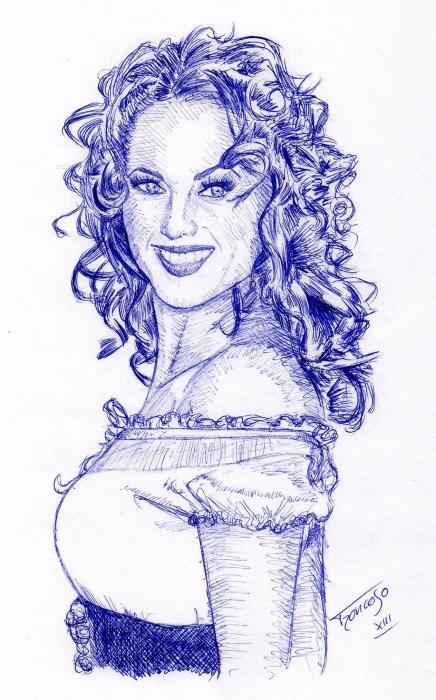 Barbara Mori by troncoman